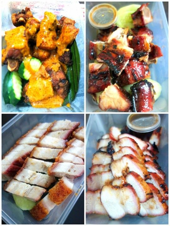 Siu yok, char siu and spare ribs in Mongolian gravy or honey BBQ sauce at Yummy Duck.