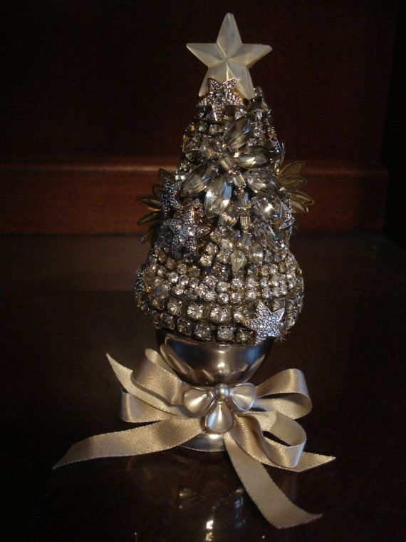 A miniature version of my jewelry trees. Perfect size to add a ...