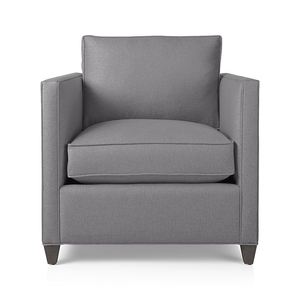 We designed Dryden so you can make it yours. Chair's