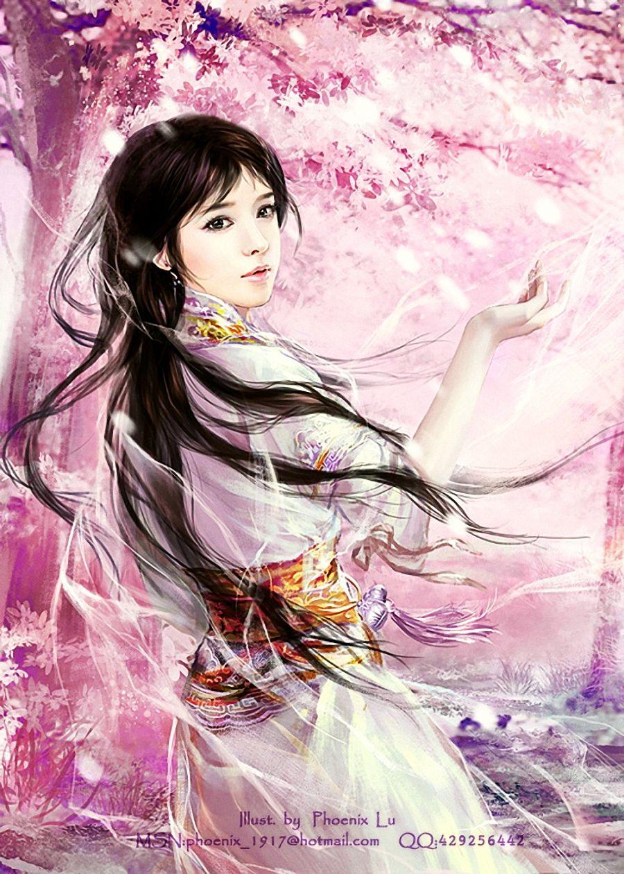 Картинки японок фэнтези
