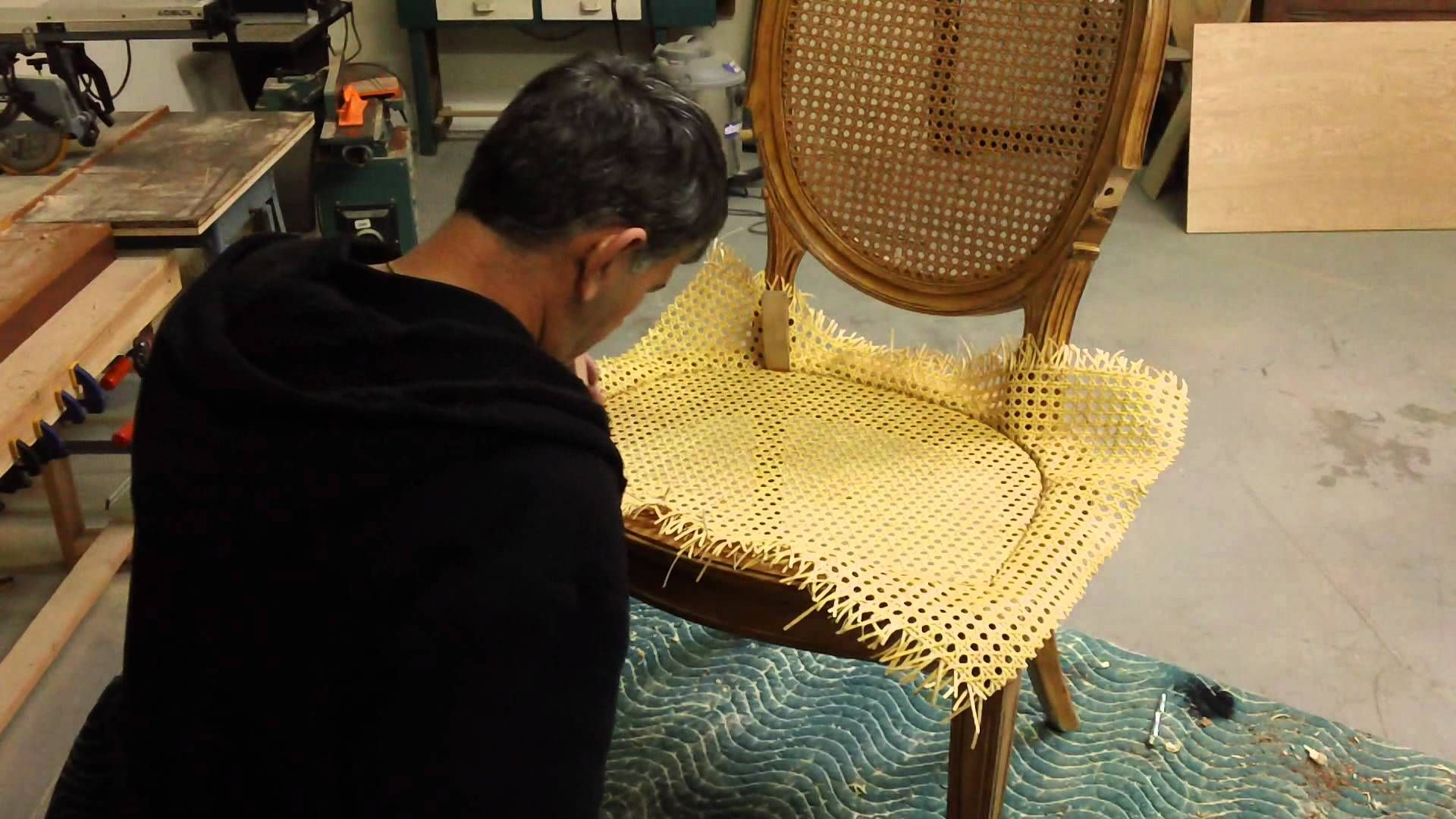How To Re Cane A Chair Chair Caning Furniture Fix