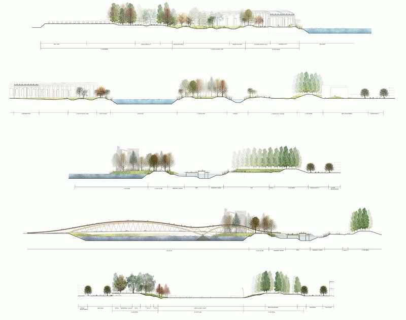 ideas about landscape diagram on pinterest   concept diagram    weiss manfredi    s proposal for toronto    s lower don lands wins the american architecture award
