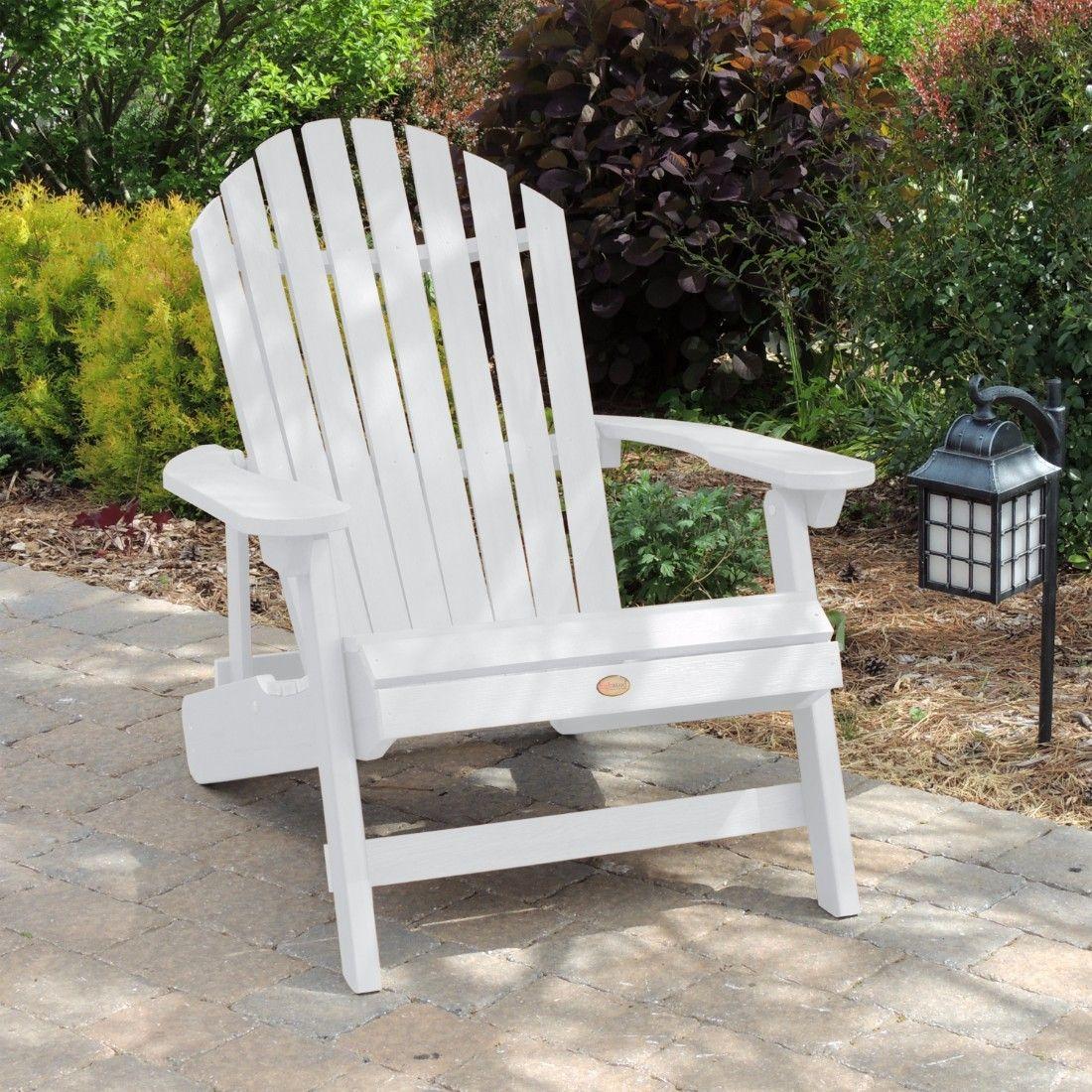 Xl Wallen Reclining Adirondack Chair Outdoor Chairs
