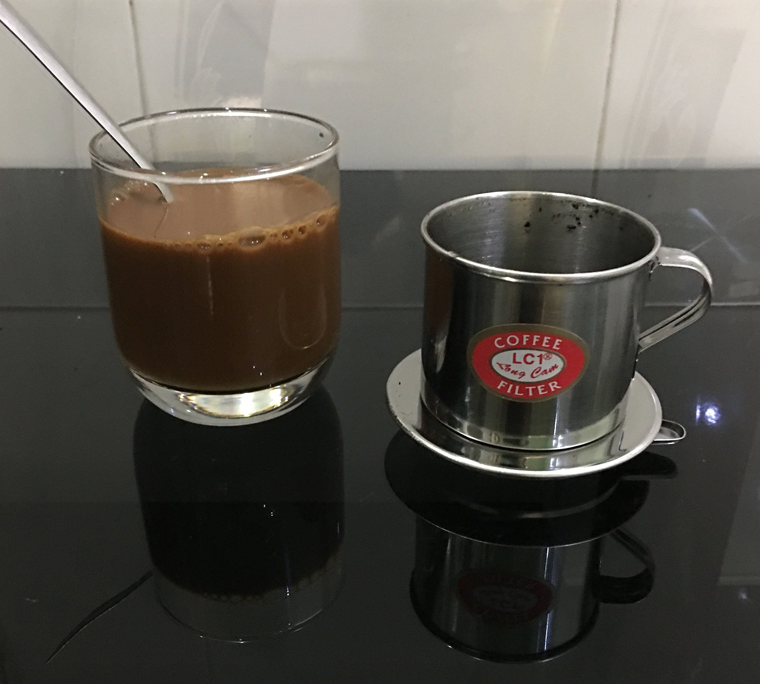 Vietnamese Coffee Filter Set Phin To Brew A Delicious