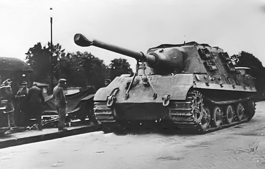 Jagdtiger Porsche Suspension Sd Kfz 186 Jagdtiger Ww2
