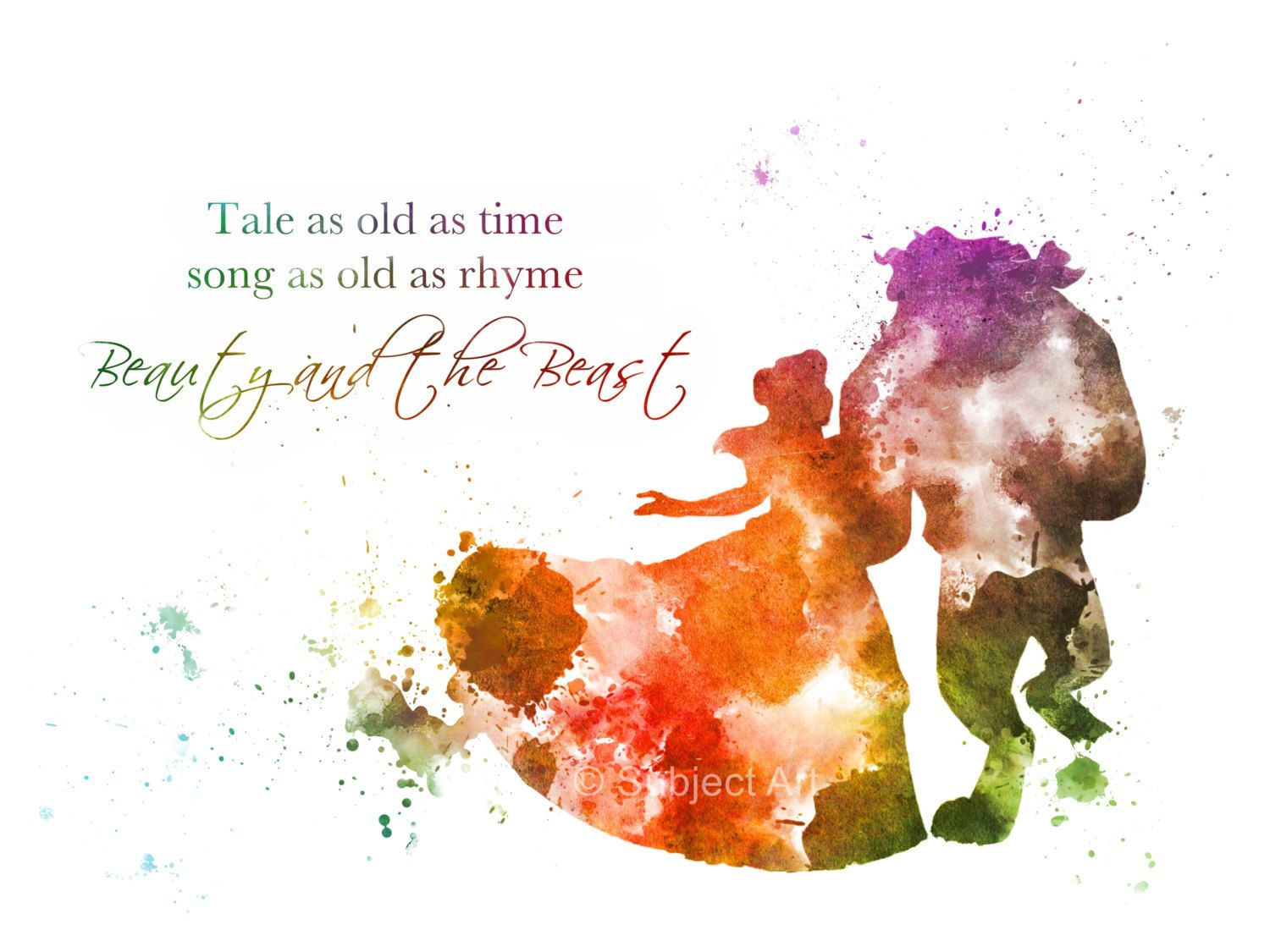 Belle Beauty and the Beast Ballroom Dance Quote by ...