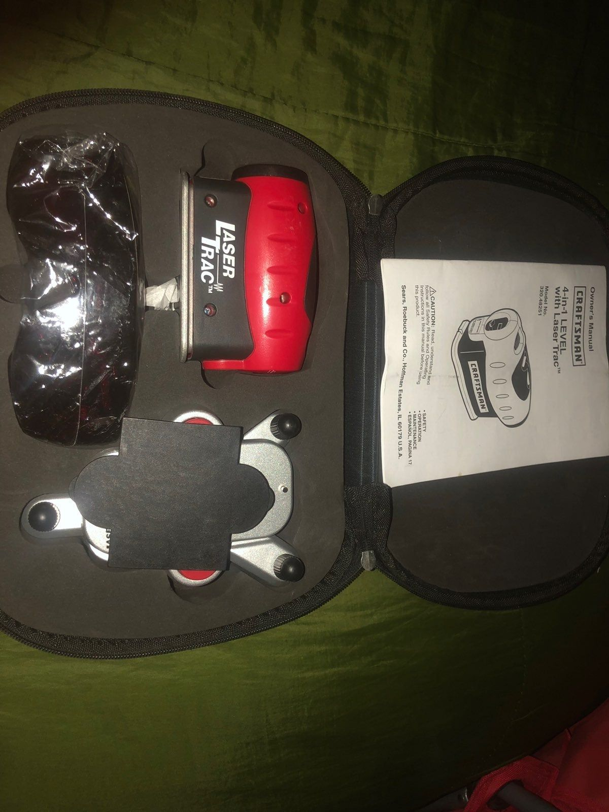 Level And Laser Trac Craftsman Tools Laser 4 In 1