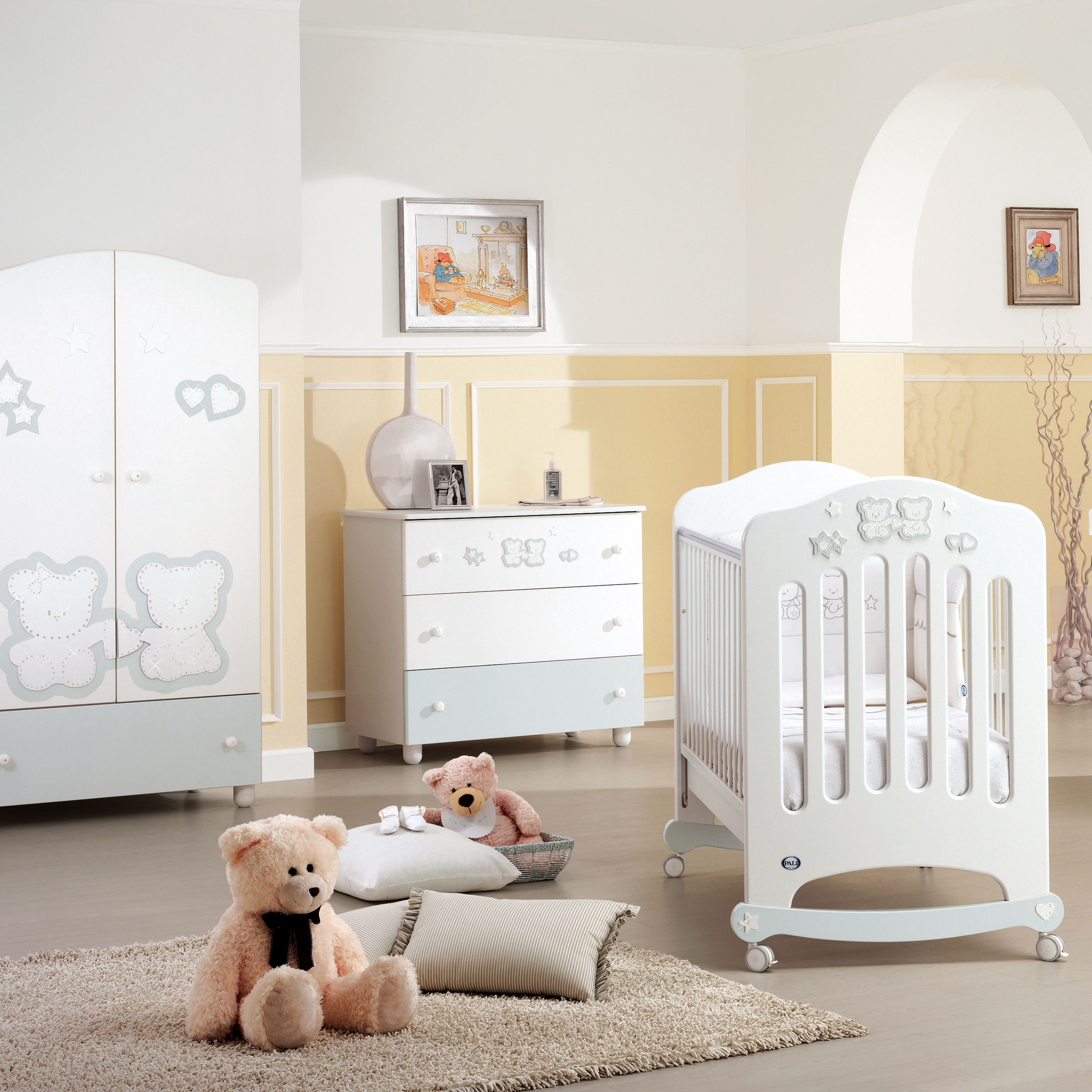 luxus babyzimmer prestige wei bei uns im baby online shop http pali. Black Bedroom Furniture Sets. Home Design Ideas