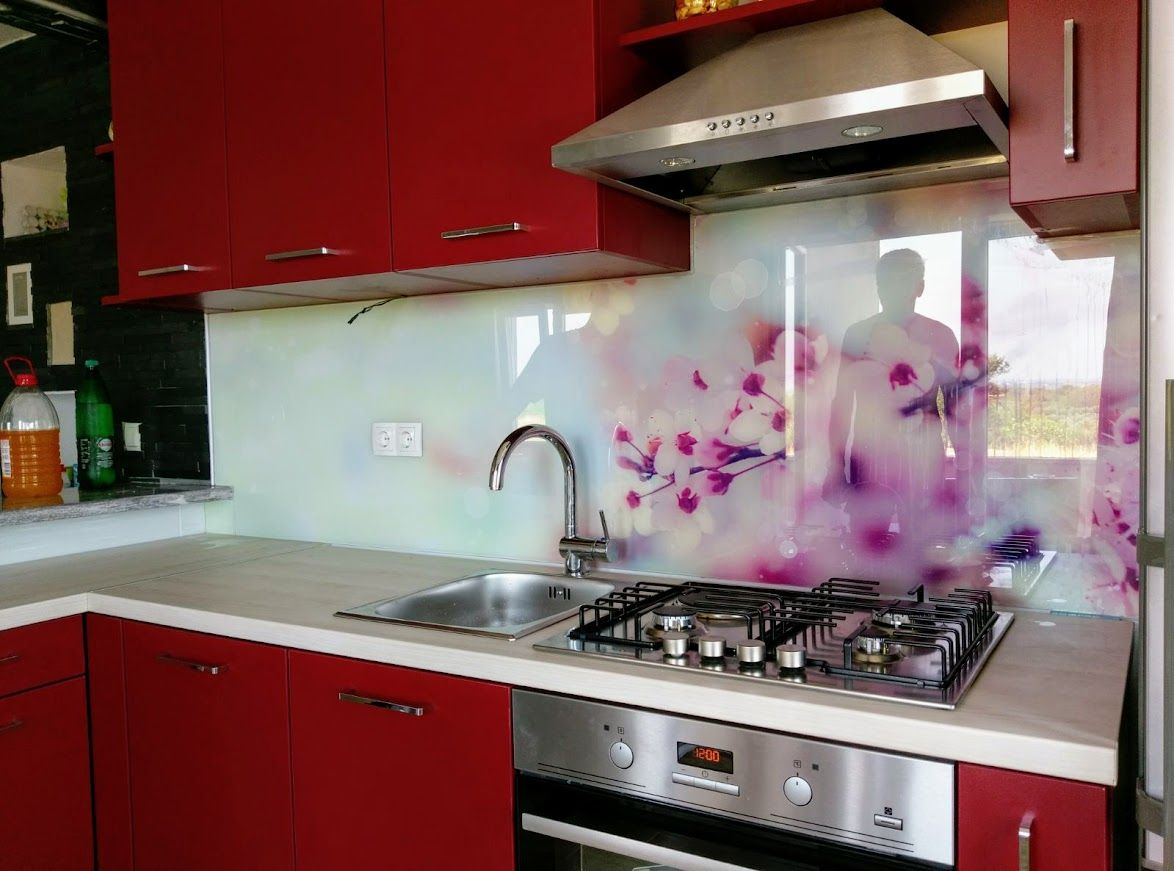 Kitchen Design Za Pin By Staklo Dalmacija D O O On Kitchen Glass Splashback Kitchen