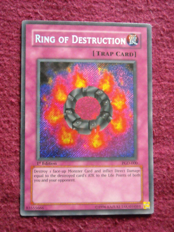 Ring Of Destruction PGD-000 Yu-gi-oh