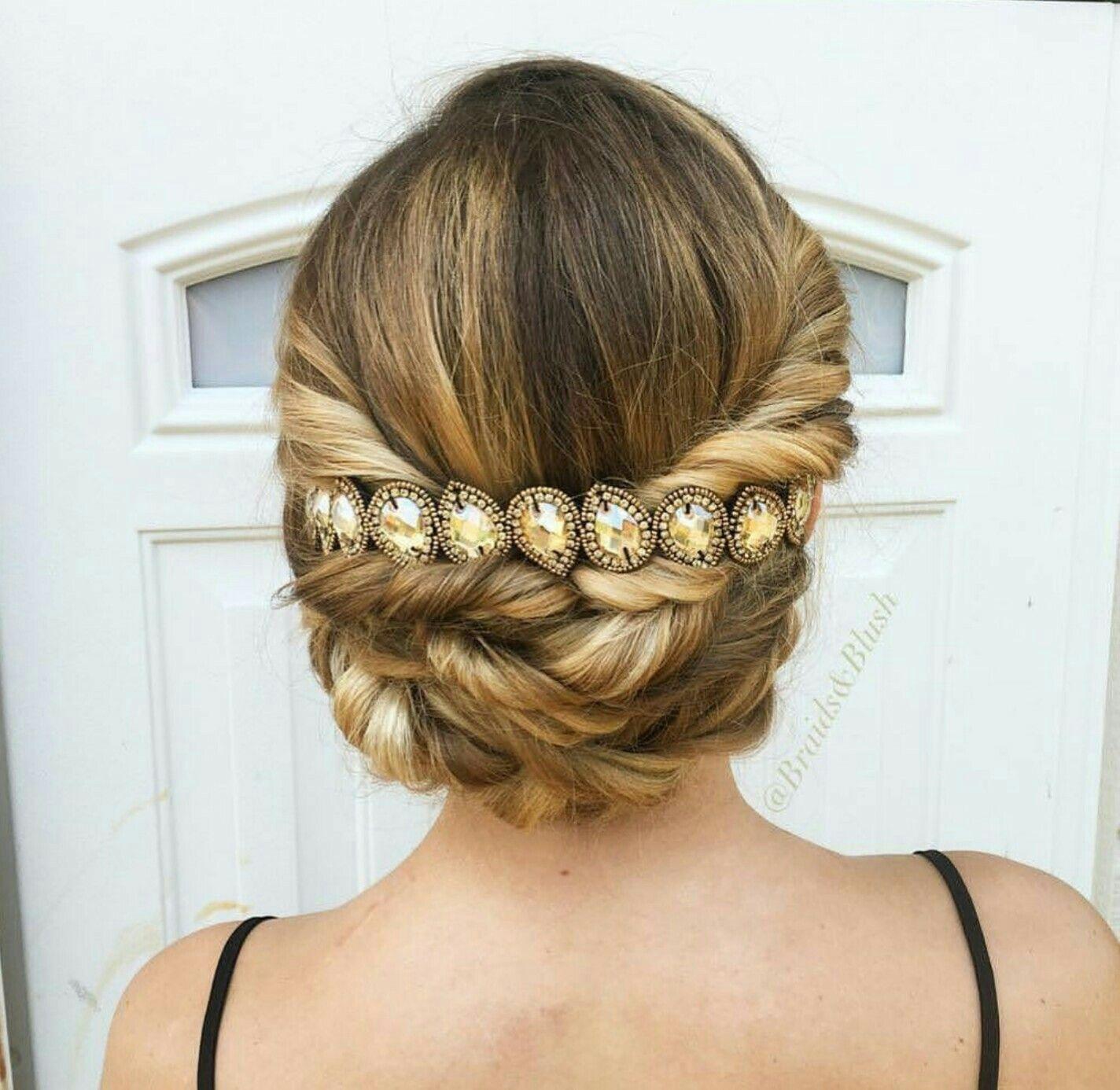 pink pewter - wedding hair | bridal hair | pink pewter