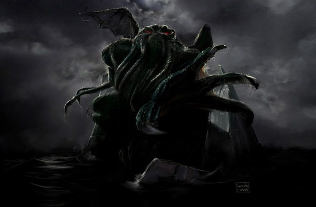 Lovecraft Wallpapers Lovecraft Scary Wallpaper Cthulhu