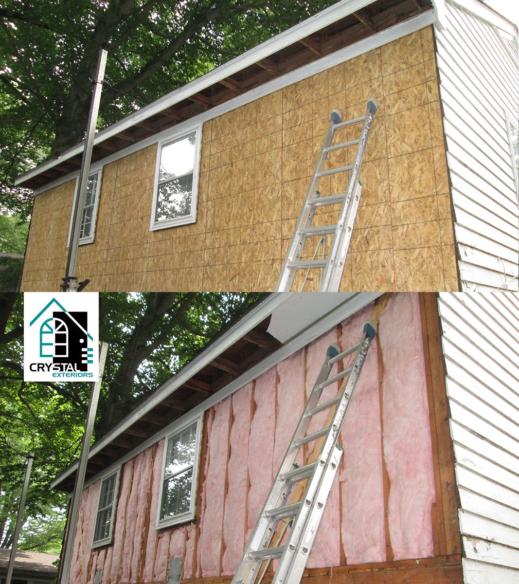 How to sheathe houses with siding Sheathe a house with siding with insulation: instructions 77