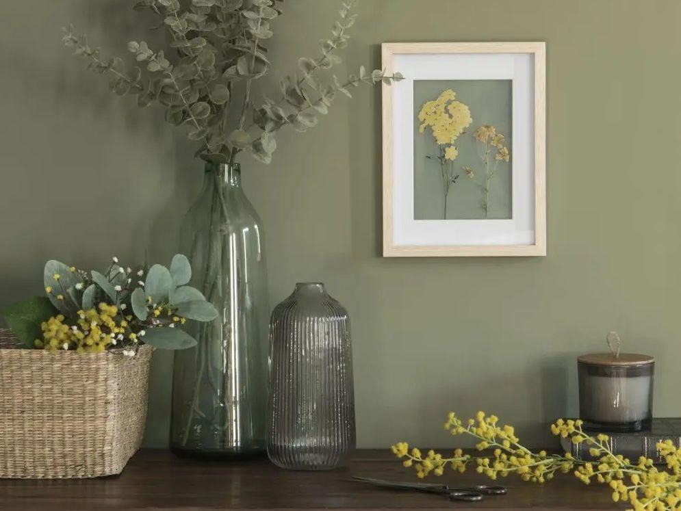 Le bon mix : la déco kaki et jaune moutarde | Décoration ...