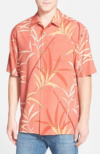 19de5269ff3 Free shipping and returns on Tommy Bahama  You re So Vine  Original Fit  Print Silk Camp Shirt at Nordstrom.com. Tropical flora sprawls over the  smooth woven ...
