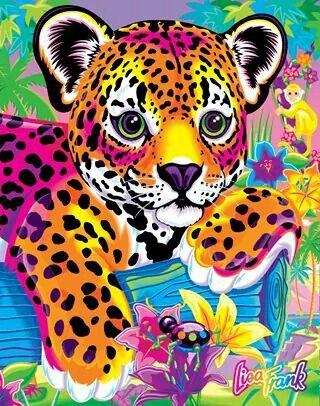 Cheetah Lisa Frank Lisa Frank Birthday Party Lisa Frank Stickers