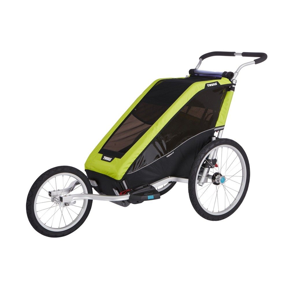 Thule Chariot Lite 1 Cycle Stroll Chartreuse Thule Chariot Bicycle Trailer Thule