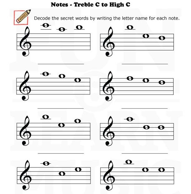treble clef music worksheets google search piano pinterest music worksheets and worksheets. Black Bedroom Furniture Sets. Home Design Ideas