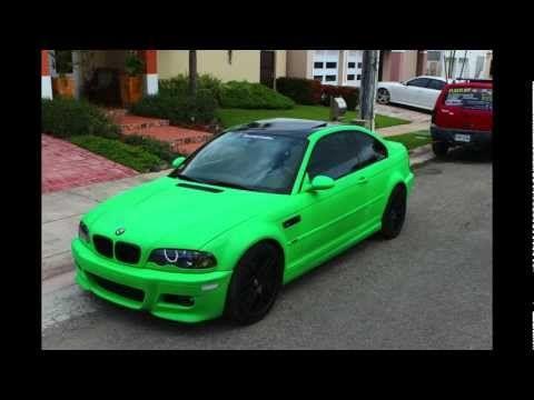 Genial BMW M3 Plasti Dipped   EuroCustomsPR