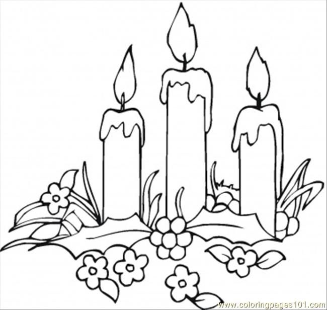 images of candles coloring pages - Google Search   Coloring ...