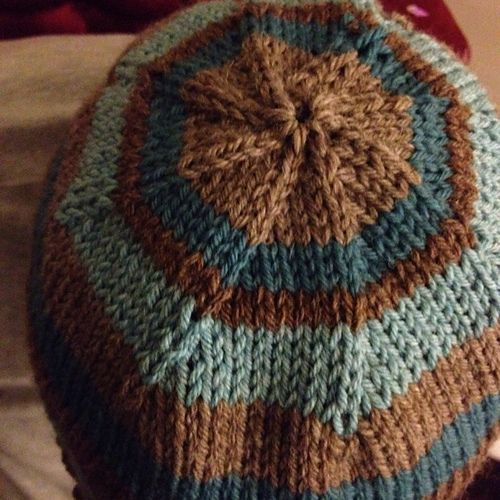 Basic Knit Hat pattern by Cynthia Miller : This is a ...