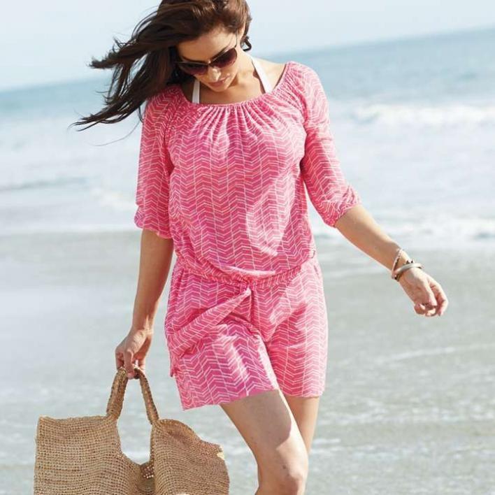 Women's Sweet Pea Peasant Dress - Frontgate