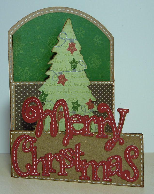 Everyday Cricut: Tri-Fold Christmas Card   Cricut   Pinterest ...