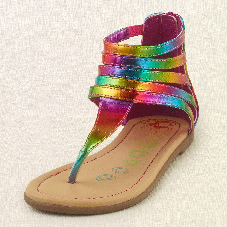 Shoes - Shoes - Rainbow Gladiator Sandal