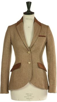 Beaver of Bolton Ladies' Pembroke 34 Length Tweed Coat