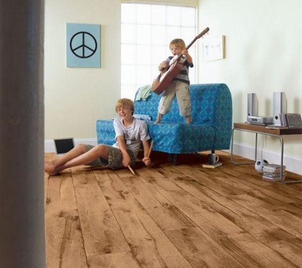 Kinderzimmer Passender Bodenbelag Pflegeleichter Vinyl Boden Holz