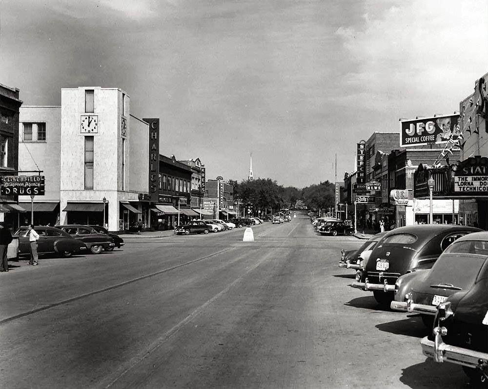 Main Street Parking Southern Heritage Appalachia Great Memories