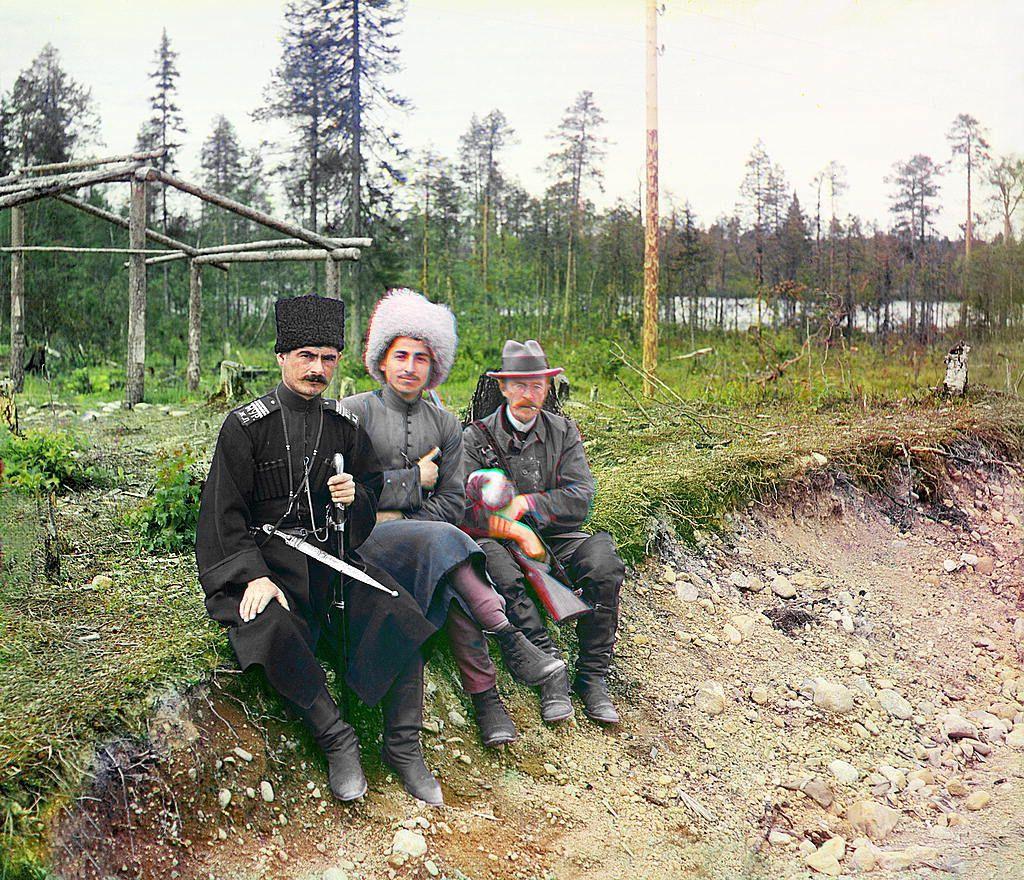 カラーでよみがえる、ロシア帝国末期に生きる人々【画像】 | 色彩写真 ...