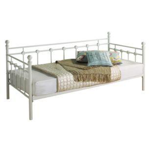 Buy Argos Home Abigail Single Metal Day Bed Frame White Day
