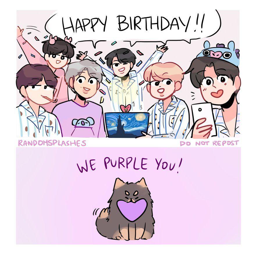 Tae S Birthday Morning P 2 Bts Happy Birthday Bts Birthdays Happy Birthday Drawings