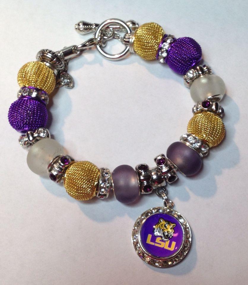 LSU Bracelet - $25
