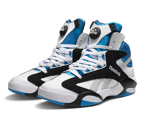 Reebok Classics 2013 Shaq Attaq: Originally released in 1992 and worn by  Shaquille O'Neal throughout the NBA season on his