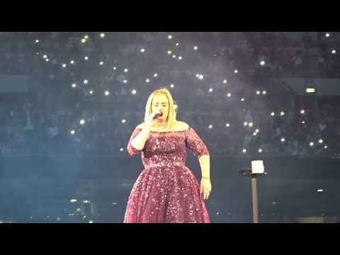 Adele Make You Feel My Love Live At Wembley Stadium 29 06 2017