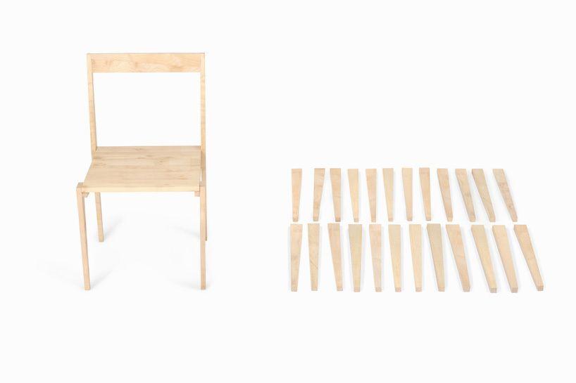 uma cadeira construída com 24 peças idênticas.  é possível, é da Mo-ow Design: http://bit.ly/1cadeira24peças