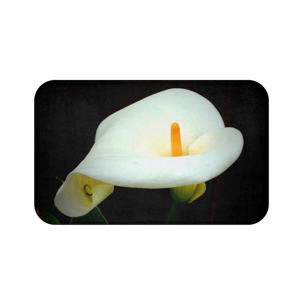 Calla lily bath mat in 2020 calla lily bath mat art of