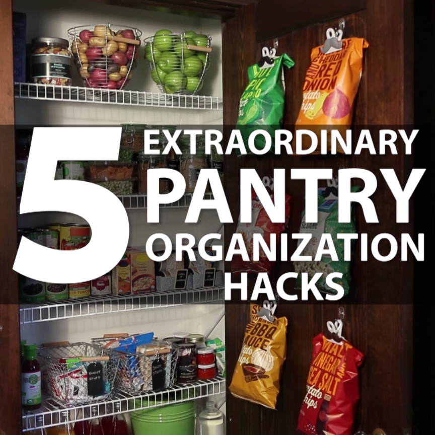 5 Extraordinary Pantry Hacks Organization Pinterest Pantry