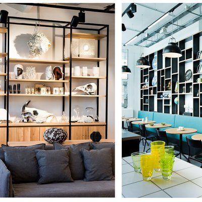 Le lieu dispose d'espaces repos et détente, canapés, petites tables, banquettes…