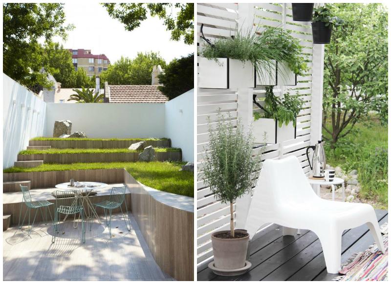 Ideas para reformar tu patio o terraza la bici azul for Terrazas para patios pequenos