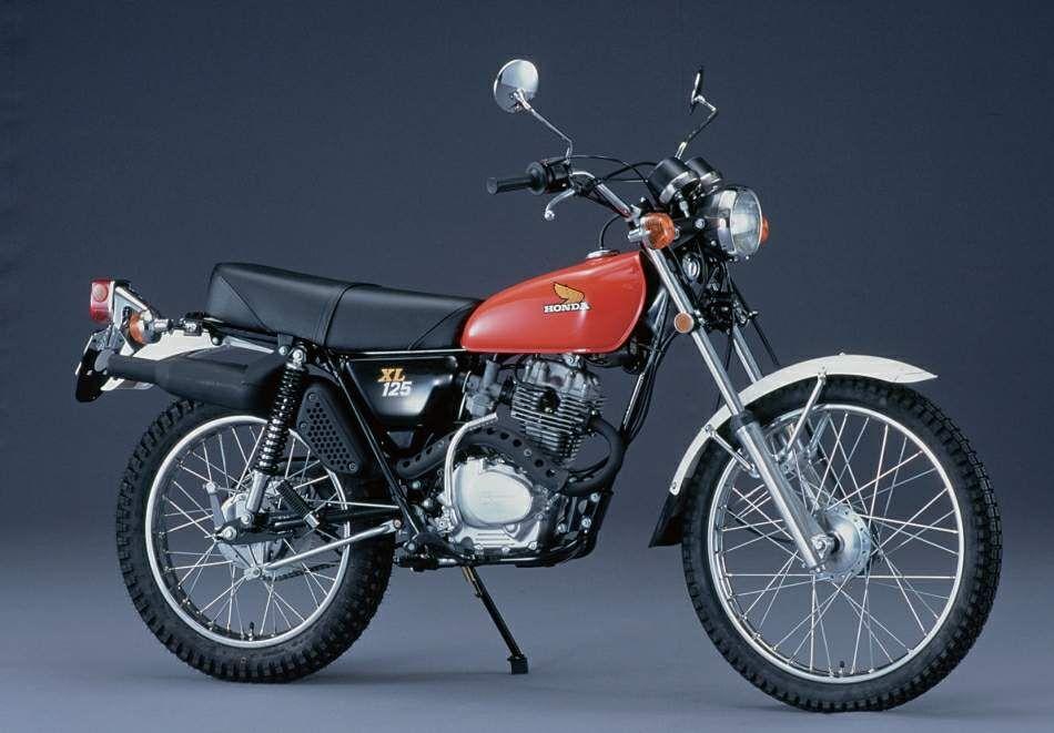 Honda Xl125s 76 Jpg 950 661 Kendaraan Motor Kuda
