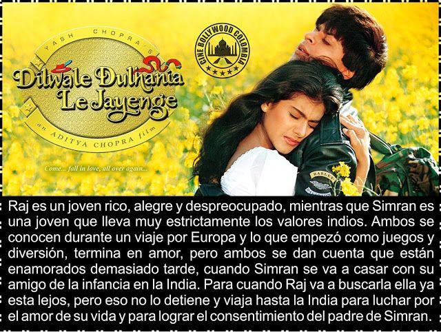 Cine Bollywood Colombia: DILWALE DULHANIA LE JAYENGE