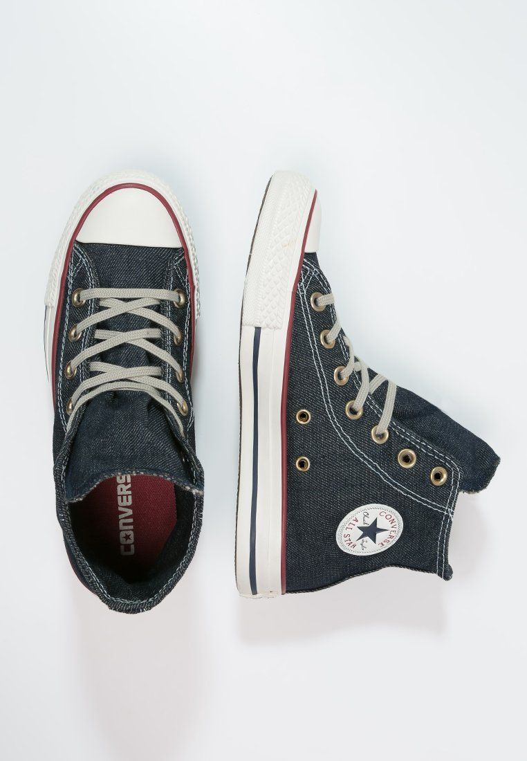 7a98a1e8eaeb Dames Converse CHUCK TAYLOR ALL STAR - Sneakers hoog - navy denim washed  Donkerblauw  € 99