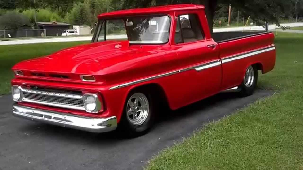 1966 Chevy C 10 Truck Pro Street 454 Bbc Rocking Hot Rods C10 Slammed Classic