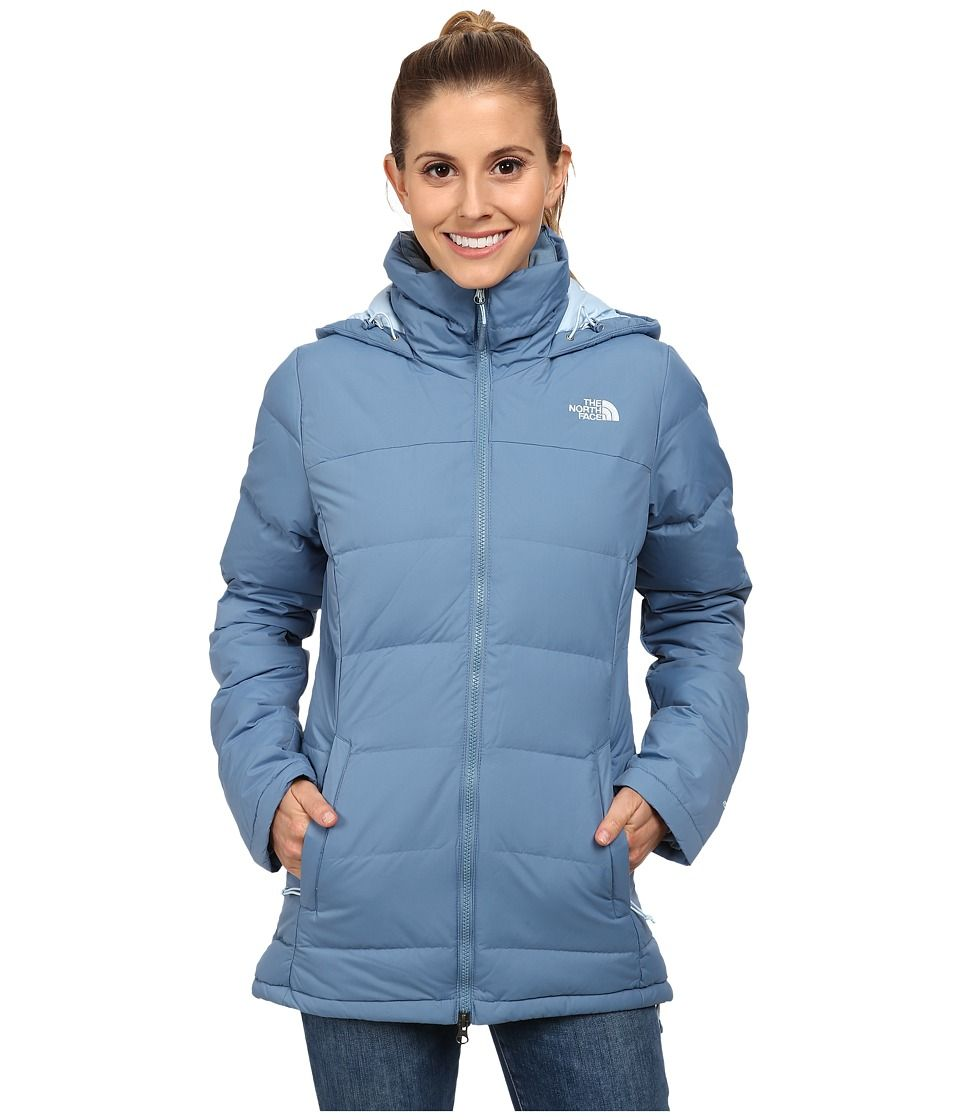 3a6871087 THE NORTH FACE THE NORTH FACE - FOSSIL RIDGE PARKA (COOL BLUE ...