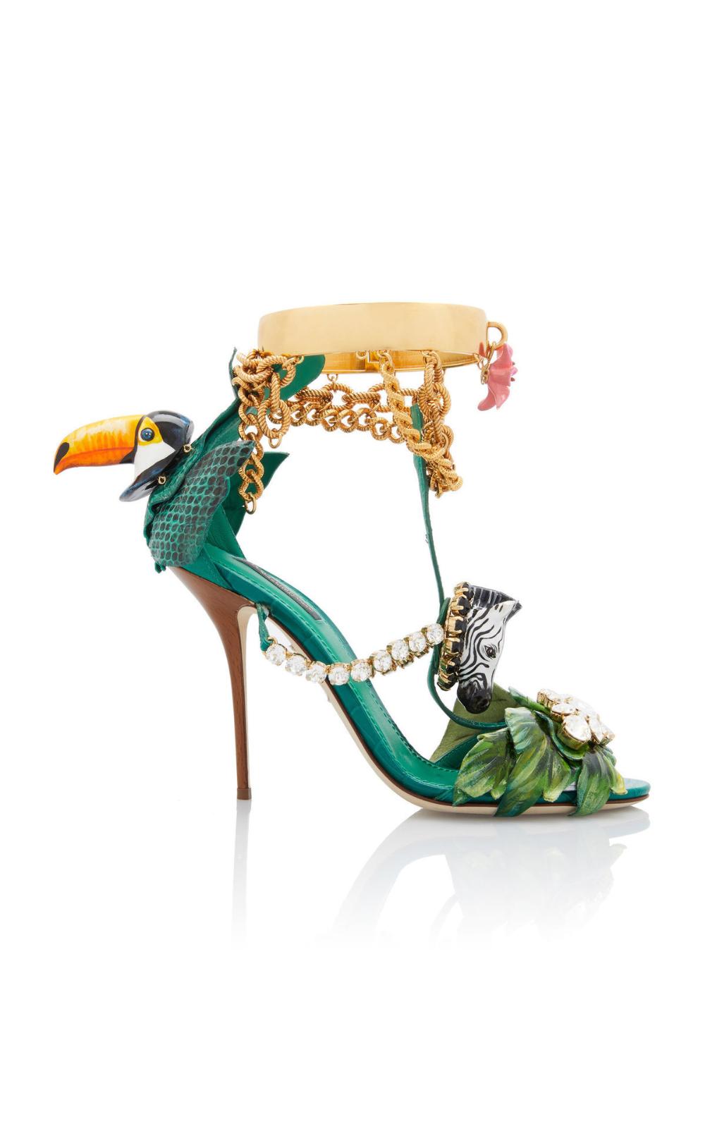 Shoelust Dolce And Gabbana Dolce Gabbana Shoes Embellished Sandals