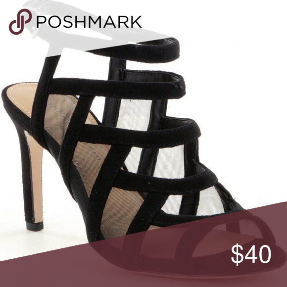 e795bf7e61a Antonio Melani Valary Black Heel Black strappy suede sandals! 100% leather  upper. 4