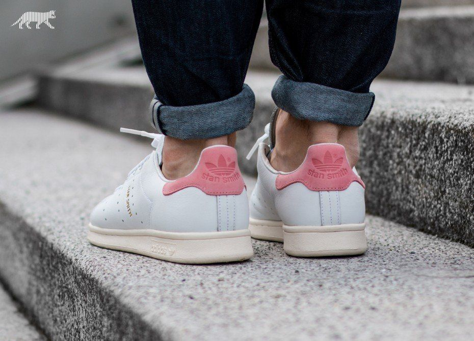 ... vintage ray pink adidas Stan Smith (Ftwr White / Ftwr White / Ray Pink) ...